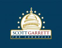 Logo Design for Congressman Scott Garrett's Garrett for Congress Campaign